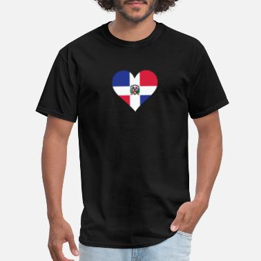 Dominican Republic A Heart For The Dominican Republic - Men's T-Shirt