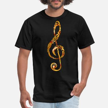 Ornamental Fish Ornament Music - Men's T-Shirt