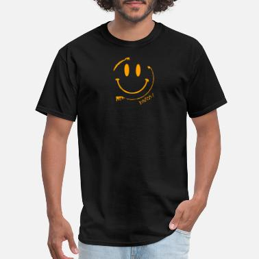Acid Smiley Batch1 Smiley Acid Face - Men's T-Shirt