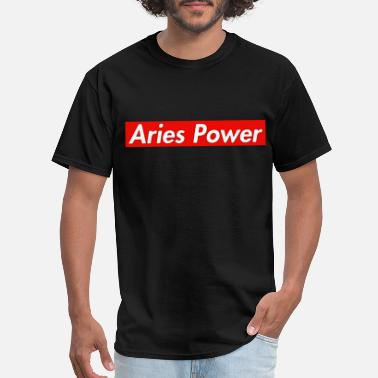 Energetic Aries Power - Men's T-Shirt