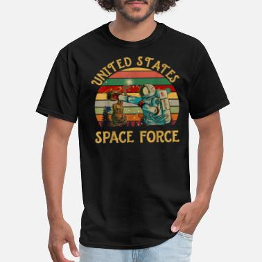 Force united states space force vintage t shirt gift 6qz - Men's T-Shirt
