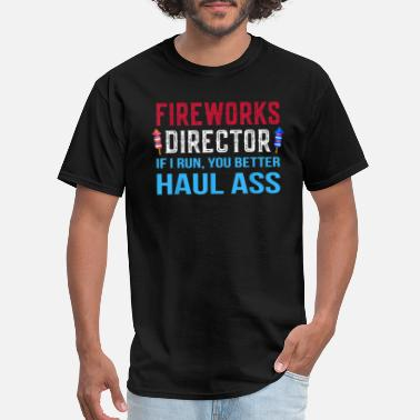 Fireworks funny fireworks director 4th of july gifts t shirt - Men's T-Shirt