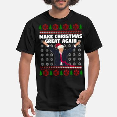 Again Make Christmas Great Again - Men's T-Shirt