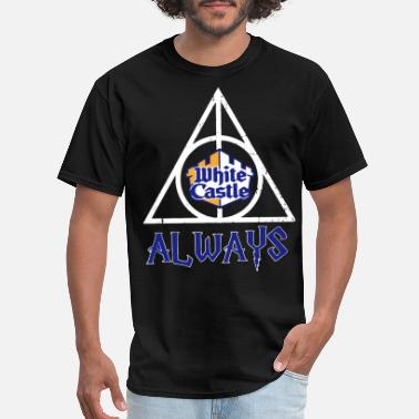 White Castle white castle always illuminati - Men's T-Shirt
