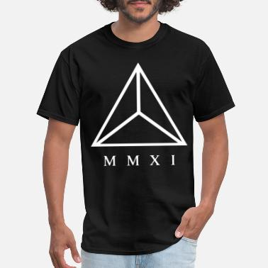 Fuck Baby & Toddler TRIANGLE MMXI PRINTED MENS SWAG BLACK HIPSTER WOME - Men's T-Shirt