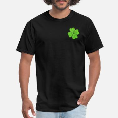 Sparkling Water green sparkling shamrocks patricks day t shirts - Men's T-Shirt