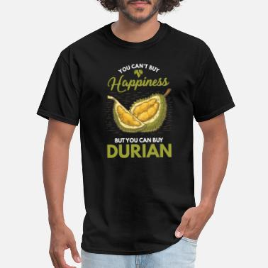 Durian Humorous Durian Lovers Happiness Funny Fruit - Men's T-Shirt