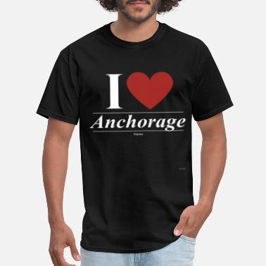 Ak Alaska Anchorage Alaska AK Alaskan - Men's T-Shirt