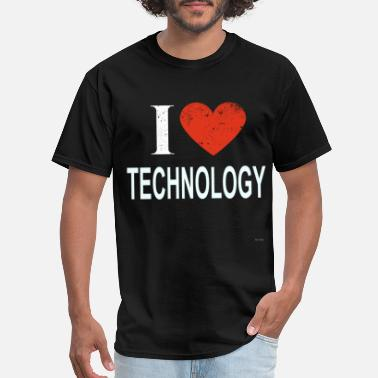 Master I Love Technology - Men's T-Shirt