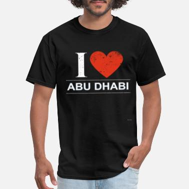 Abu Dhabi I Love Abu Dhabi - Men's T-Shirt