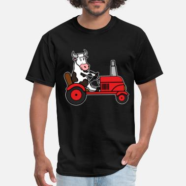 Trecker Tractor Farmer Trecker Farmer Gift Cool Shirt - Men's T-Shirt