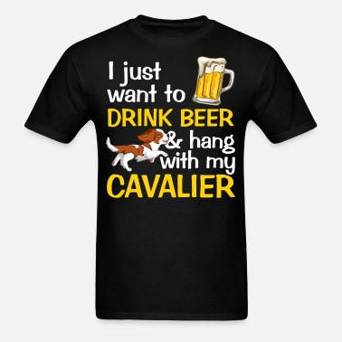 Drink Beer and Hang with My Cavalier Hoodie