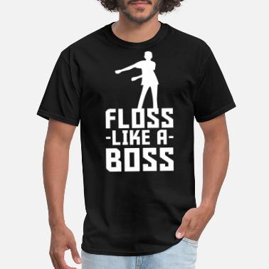 Belly Dancing Kids floss like a boss back pack kid flossin dace funny - Men's T-Shirt