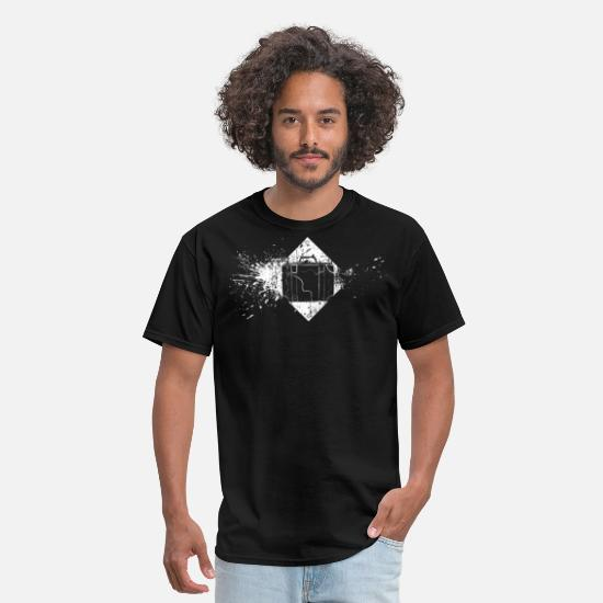 Tourist T-Shirts - Vacation bag Travel - Men's T-Shirt black