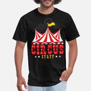 Staff Circus Staff Party Retro Vintage Carnival Outfit - Men's T-Shirt
