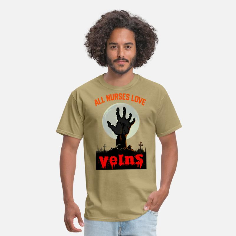 a6d02833e4afb All Nurses Love Veins - Nurse Halloween Costume Men's T-Shirt | Spreadshirt