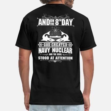 Nuclear Navy Nuclear - Men's T-Shirt