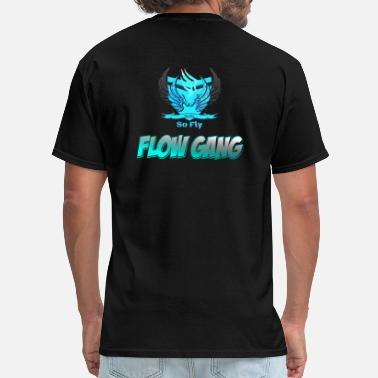 Official Gang Flow Gang With So Fly Official Logo - Men's T-Shirt