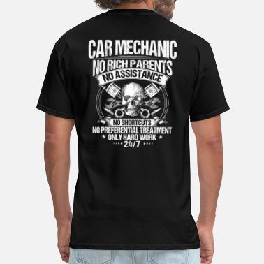 Race Car Car Mechanic/Mechanics/Hard Work/Gift/Present - Men's T-Shirt