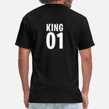 Queen King King 01 [King&Queen] - Men's T-Shirt