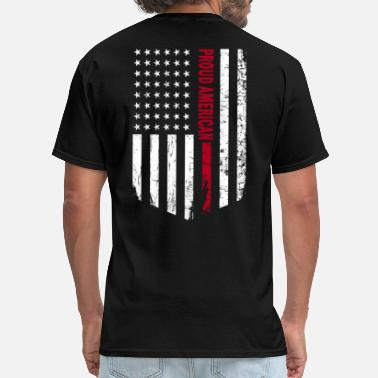 American Proud American Loud and Proud Tshirt - Men's T-Shirt