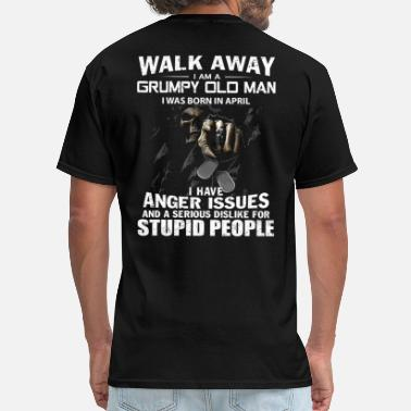 Man Walk away - Men's T-Shirt