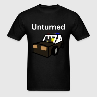 Unturned T-Shirt Old school police car  - Men's T-Shirt