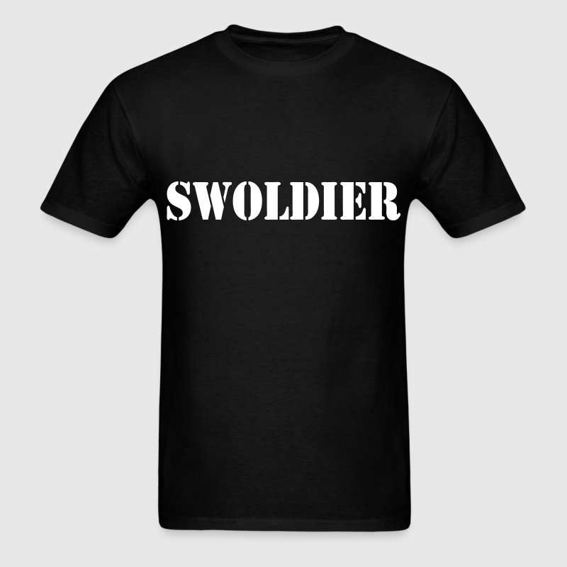 SWOLDIER - Men's T-Shirt
