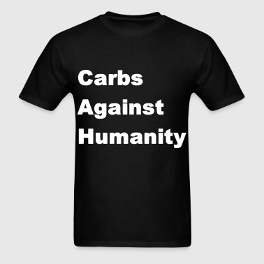 Carbs Against Humanity - Men's T-Shirt