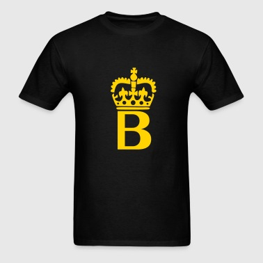 Crown - B – Name - Men's T-Shirt