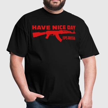 FPS Russia Have Nice Day MP Hoodies - Men's T-Shirt