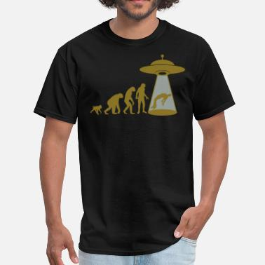 Scifi ABDUCTION - Men's T-Shirt
