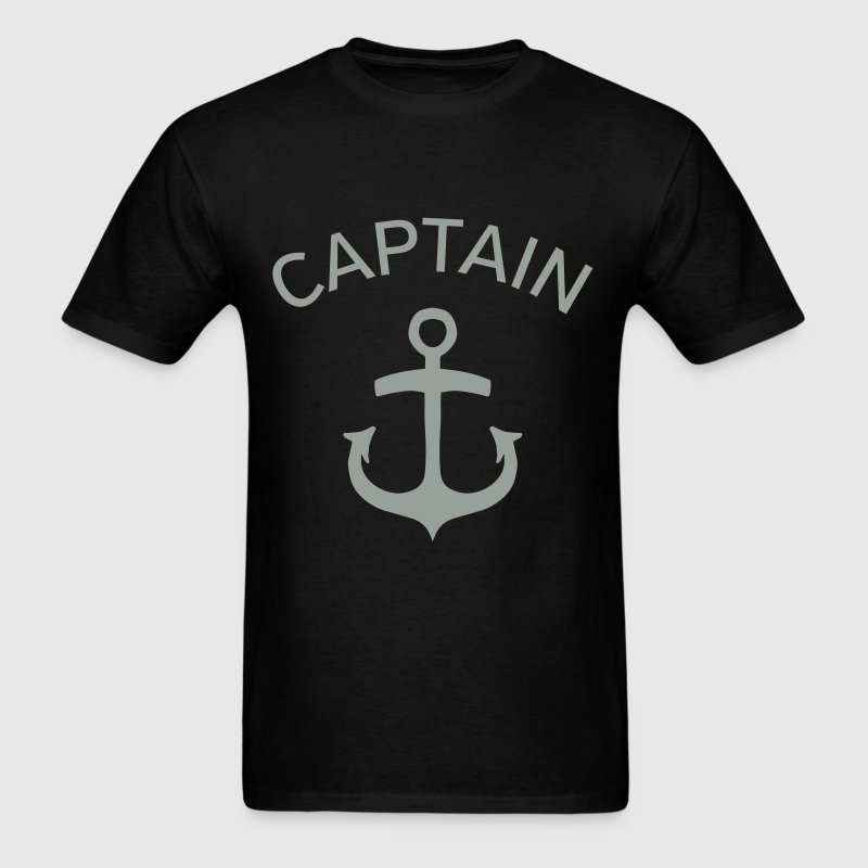 Captain (Anchor) - Men's T-Shirt