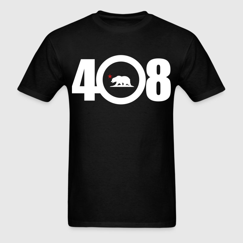 area_code_408 - Men's T-Shirt