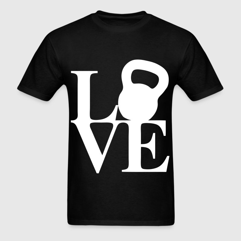 Love Kettlebell - Men's T-Shirt