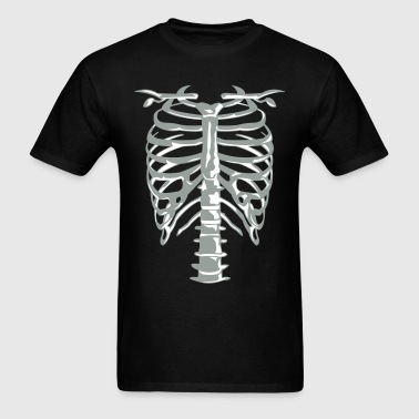 Skeleton Cage - Men's T-Shirt