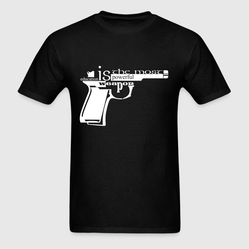 Education weapon - Men's T-Shirt