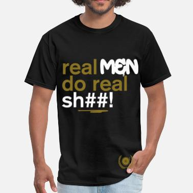 Akla - Real Men - Men's T-Shirt