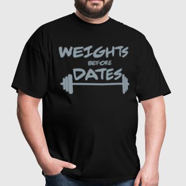 Weights - Men's T-Shirt