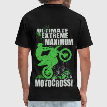 Extreme Dirt Bike Stunt - Men's T-Shirt