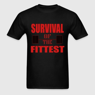 Survival of the Fittest - Men's T-Shirt