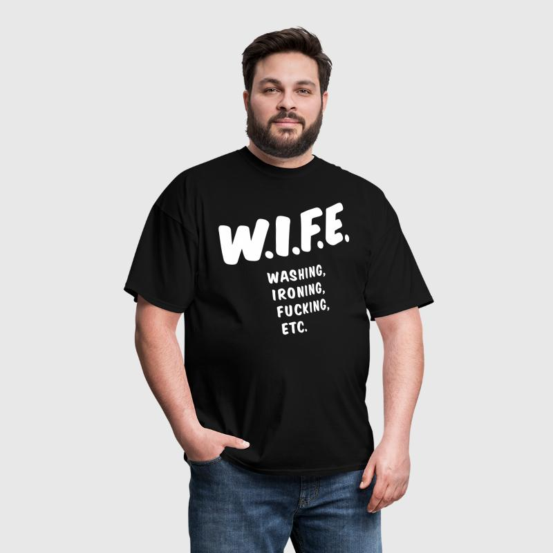 WIFE definition - Men's T-Shirt
