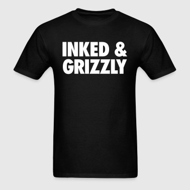 Inked & Grizzly - Men's T-Shirt