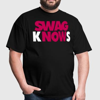 SWAG KNOWS - Men's T-Shirt