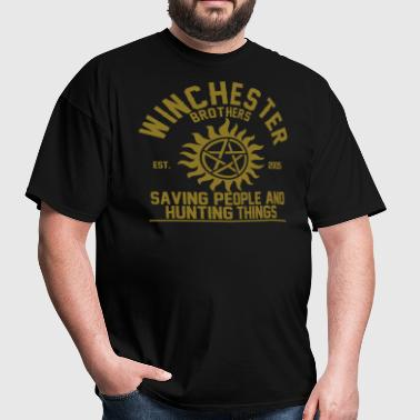 winchester brothers - Men's T-Shirt