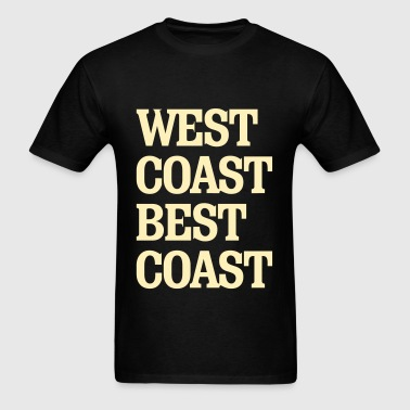 West Coast Best Coast - Men's T-Shirt