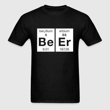 The Science of BeEr - Men's T-Shirt