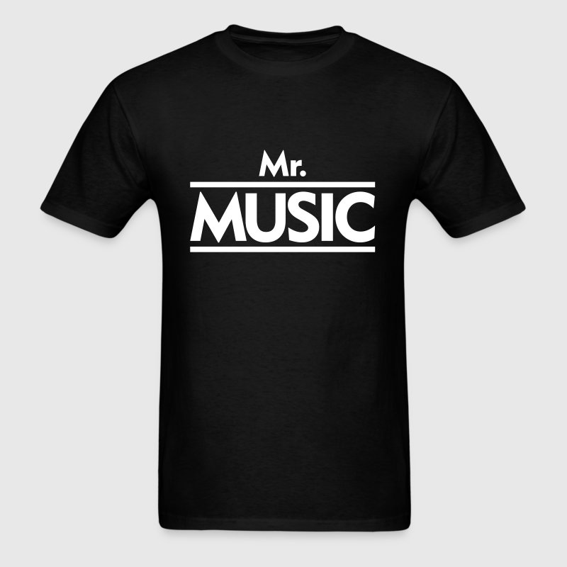 Mr. Music - Men's T-Shirt