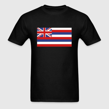 Flag of Hawaii - Men's T-Shirt