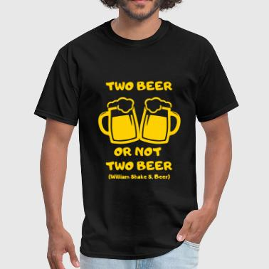 two beer - Men's T-Shirt